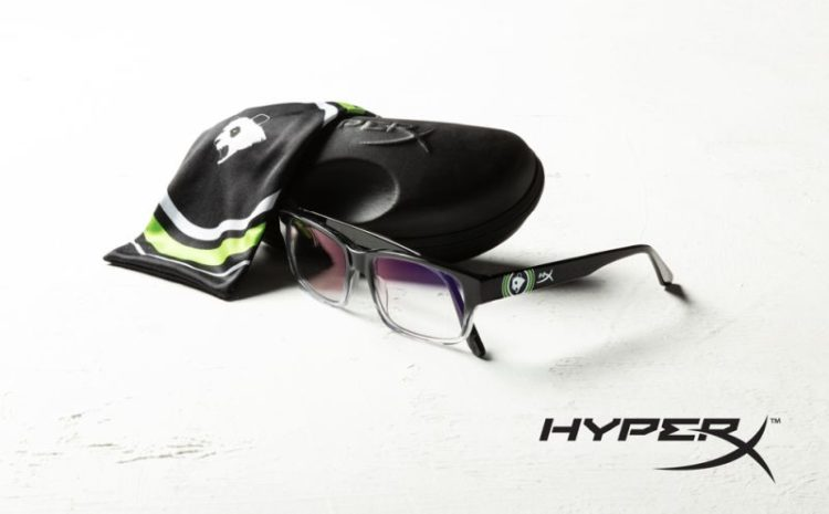 HyperX and Panda Global Release First Gaming Eyewear with Design Collaboration by Esports Team