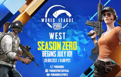 PUBG MOBILE World League Season Zero West & East Teams