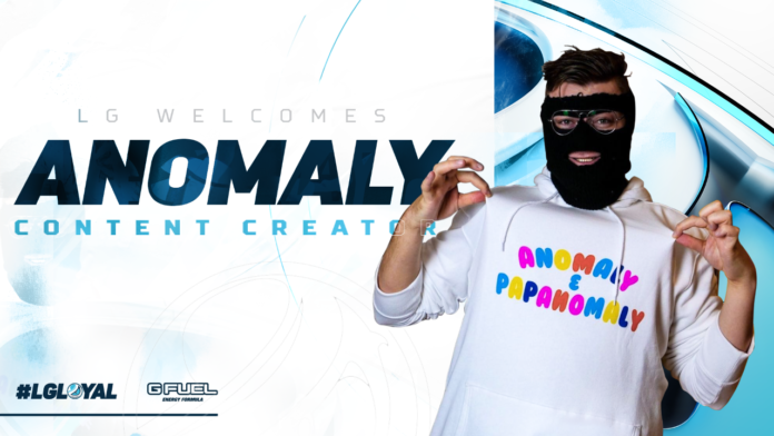 Anomaly to create content for North American Organization Luminosity Gaming