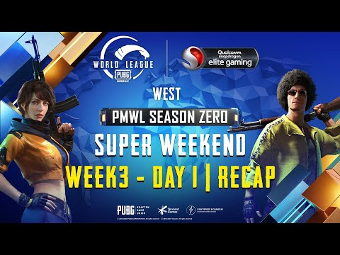 PUBG MOBILE World League West Season ZERO – WEEK 3 DAY 3 Super Weekend Recap