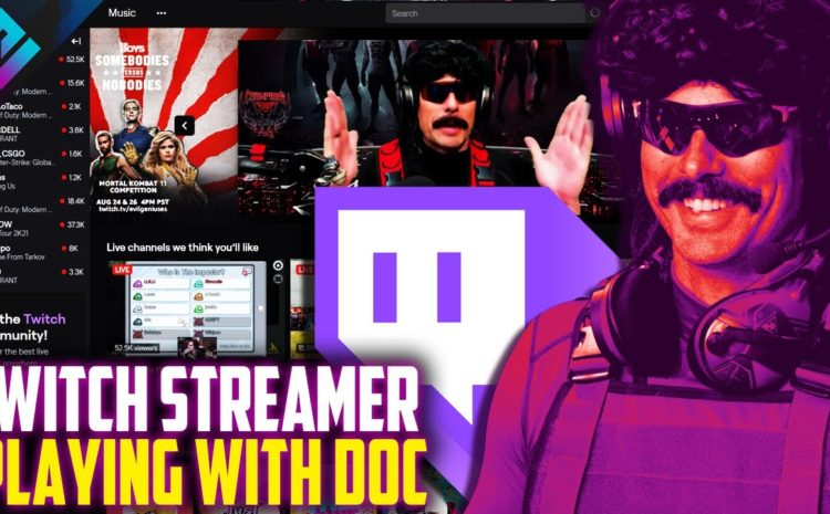 "Dr Disrespect Found a Twitch Streamer ""Who Has the Balls"" to Play with Him"