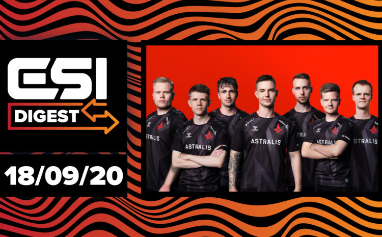 Astralis Group restructures brands, Bose partners with LoL Esports | ESI Digest #10
