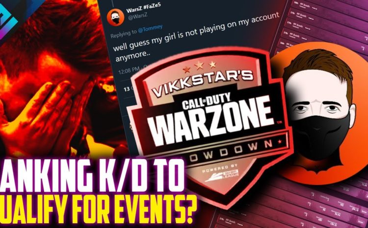 CoD Pro Exposes Warzone Players Tanking K/Ds for Events