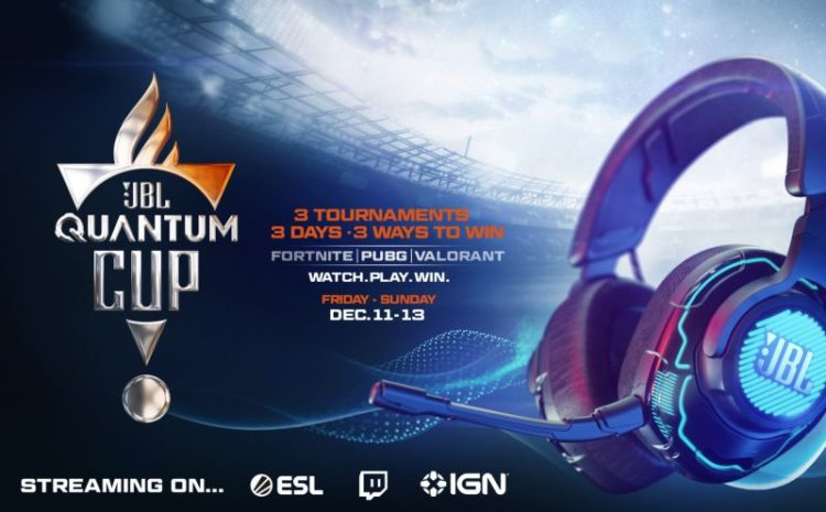 JBL Announces First-Of-Its-Kinds Global Gaming Tournament in Cooperation With ESL