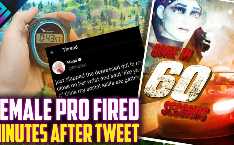 Female Pro Fired 30 Minutes After This Tweet