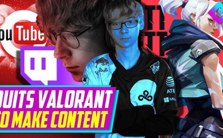 One of Valorants Best Pros Quits for Content (C9 TenZ)