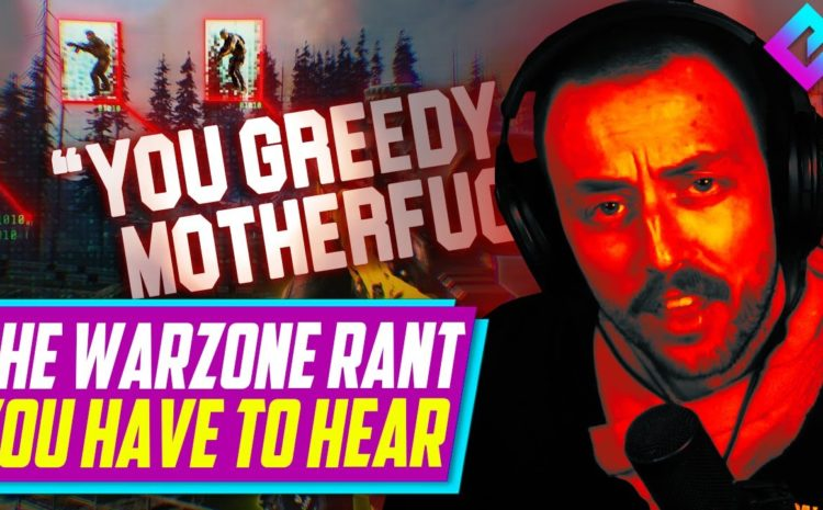 The Warzone Cheater Rant EVERYONE Needs to Hear