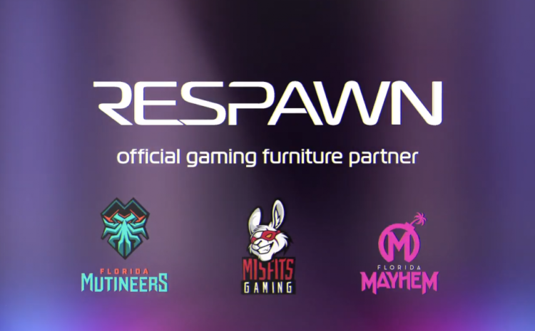 RESPAWN Products becomes furniture partner of Misfits Gaming Group